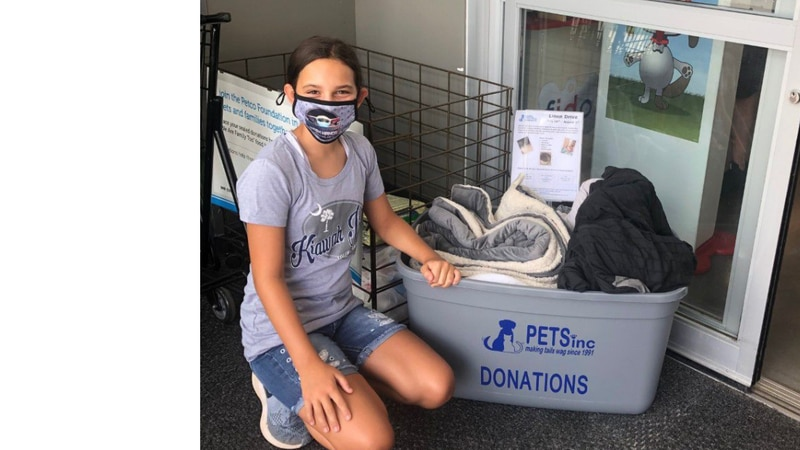 Midlands 7th grader donates time and love to local animal shelter
