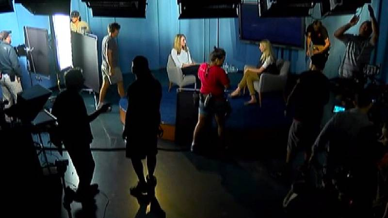 The CBS legal drama Reckless shot scenes at the WCSC studios in 2014.