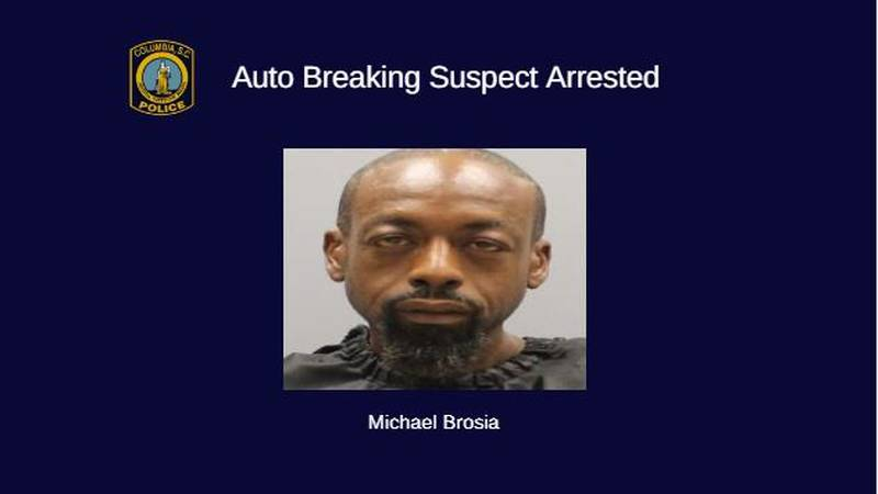Michael Brosia was arrested after being wanted for over 16 warrants for vehicle crimes....