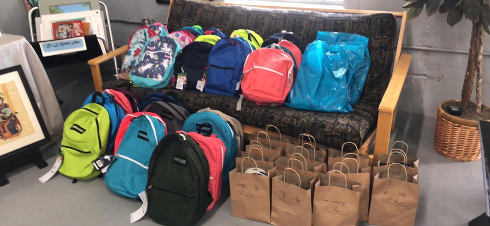 The Edge of Broad Street back to school donations