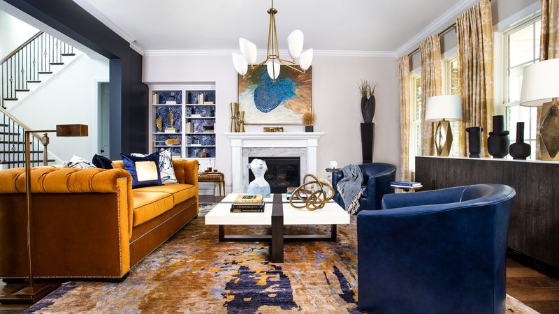 Seven different designers have come together to outfit the 5,000 square foot home located in...