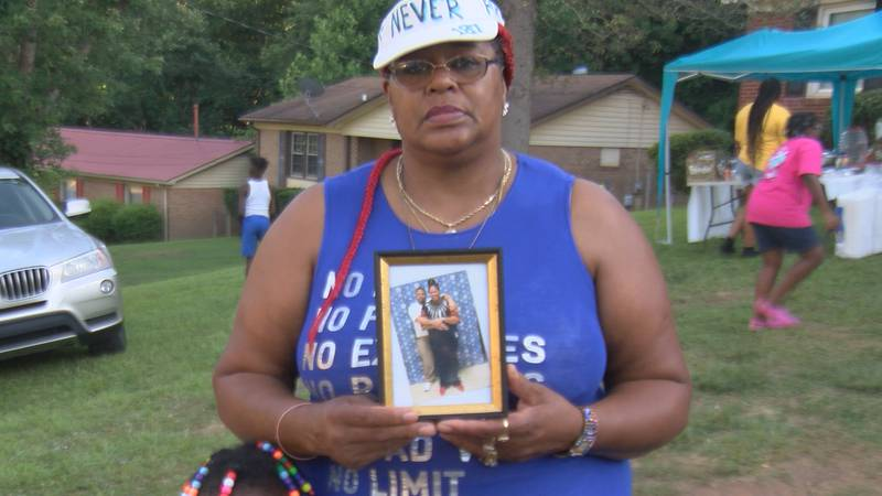 A Charlotte mother is pleading with the man accused of killing her son to turn himself in to...