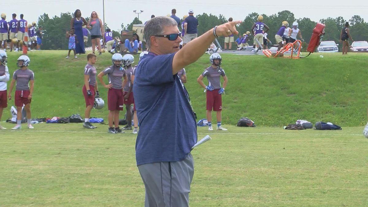 Dean Howell served as the head football coach at White Knoll for eight seasons.