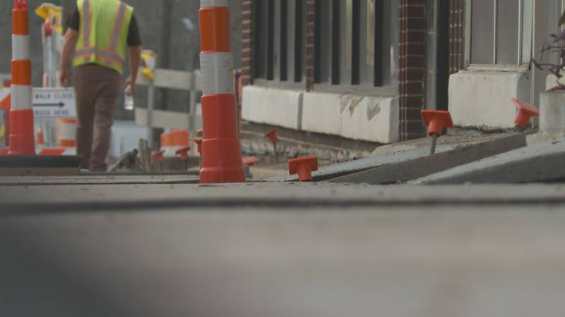 After months of inaction, North Columbia business owners pleased with new penny tax sidewalk