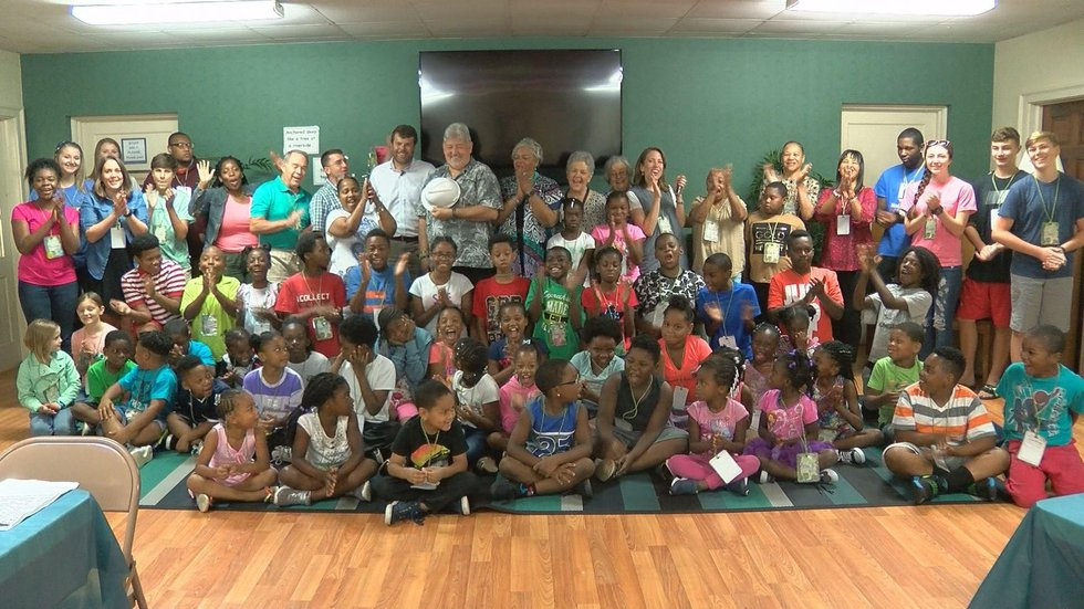 Thanks to a Midlands nonprofit, 60 students in the Eau Claire neighborhood are in the middle of...