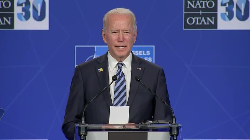 Biden preparing intensely for Putin's tactics with aides and allies.