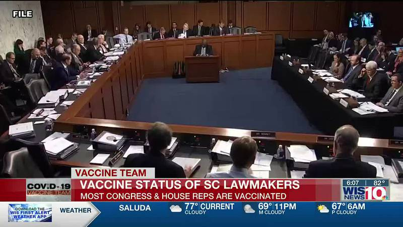 All but one member of the SC Congressional delegation publicly says they're gotten the COVID-19...
