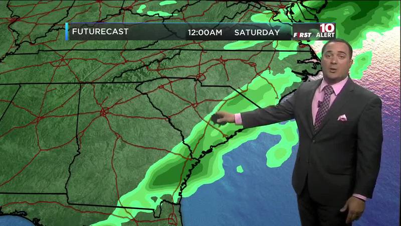 Kevin Arnone's March 12 noon forecast