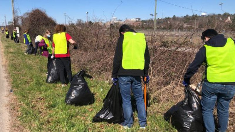 Keep the Midlands Beautiful provides the supplies like trash bags, litter grabbers, safety...