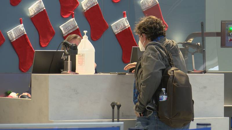 Health officials say if you are traveling to get tested before you leave and when you arrive.