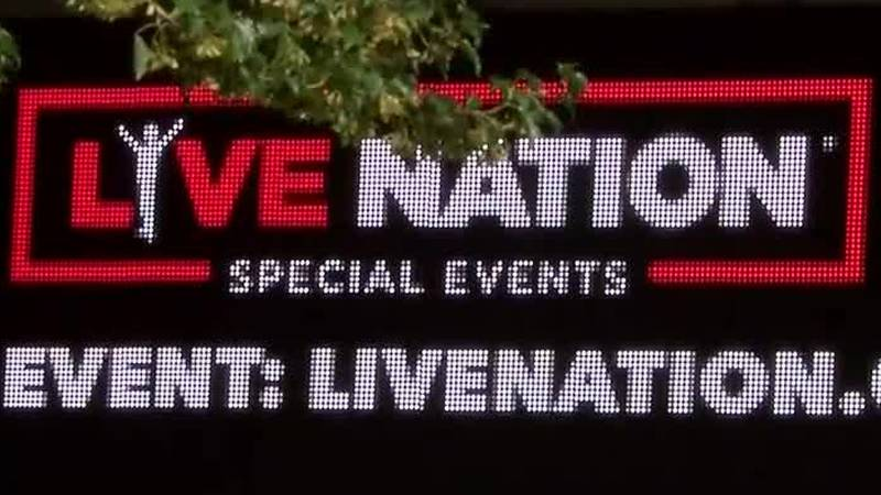 Live Nation operates four concert venues in Charlotte.