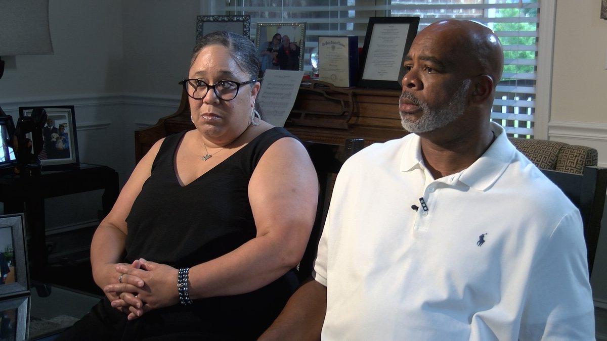Christyl and Corey Champion sit for an interview about the struggles getting treatment for...