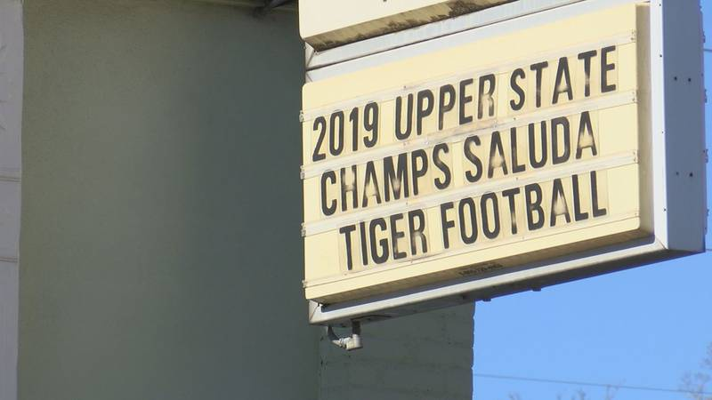 The Saluda Tigers will play for the Class 2-A state title. It's their first title game...