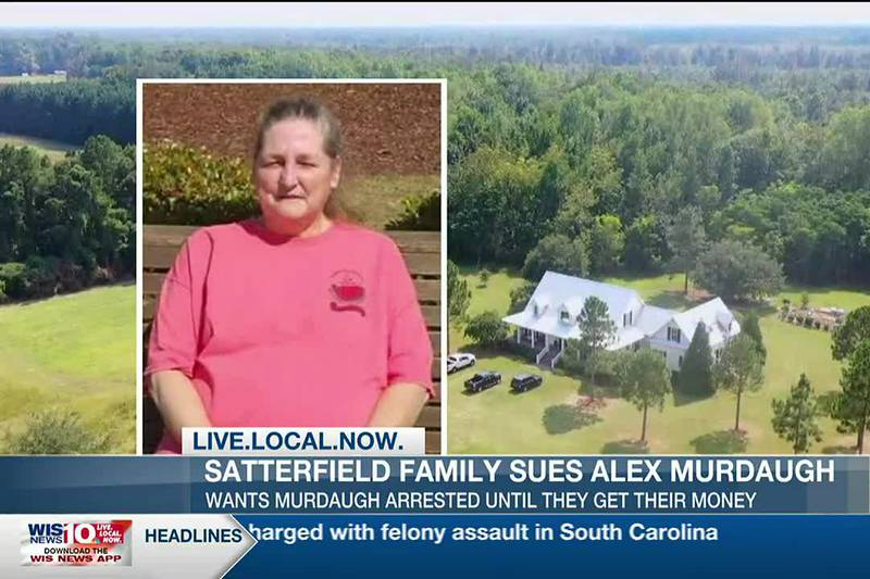 Children of former Murdaugh family housekeeper want Alex Murdaugh jailed