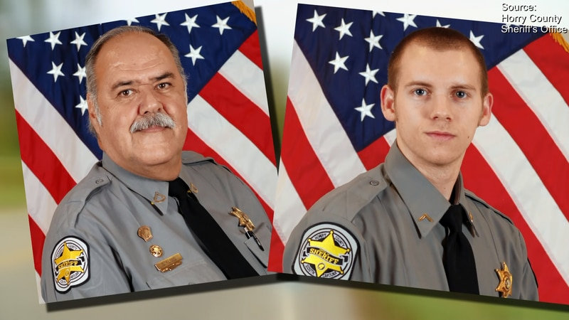 Stephen Flood (left) and Joshua Bishop were fired from the Horry County Sheriff's Office...