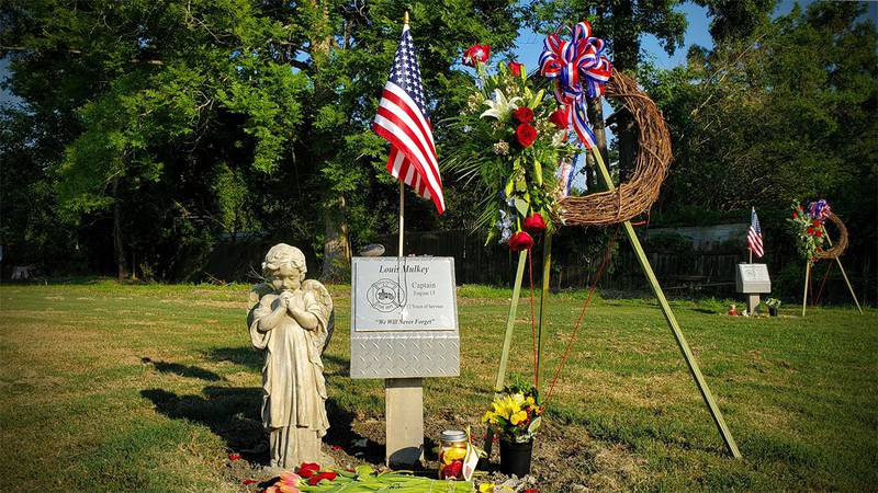 The city of Charleston honored the nine firefighters who died 14 years ago Friday battling a...