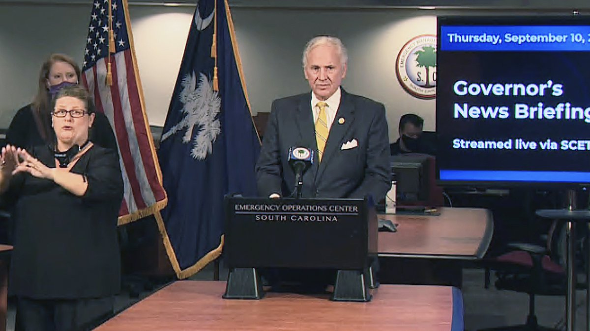Gov. Henry McMaster said he was concerned that a large amount of schools in South Carolina are...