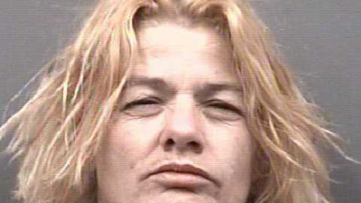 """Deputies say Robin Manes claimed that her name was """"Rudolph the reindeer."""" (Rowan Sheriff's..."""