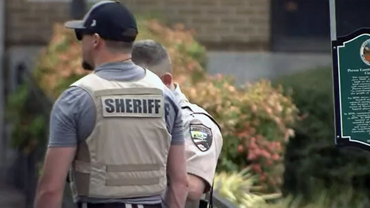 An officer-involved shooting was reported inside the Person County courthouse on Thursday...