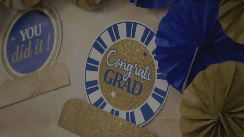 Four people graduated from the family intervention program on Thursday.