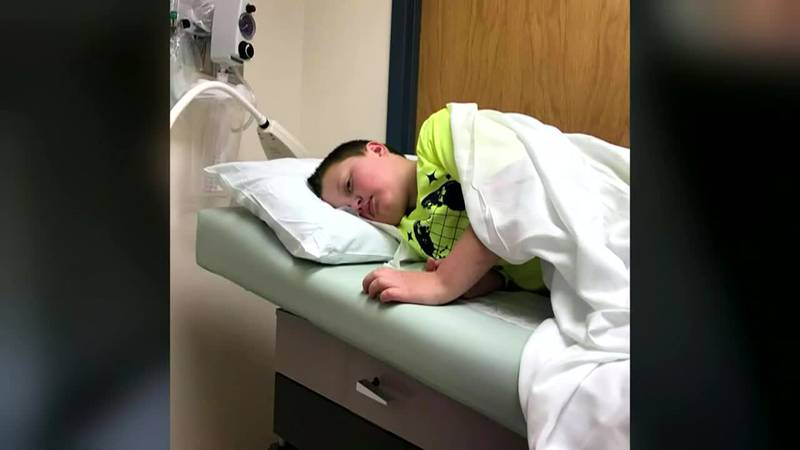 The immunocompromised boy's mother hopes his story will encourage others to do their part to...