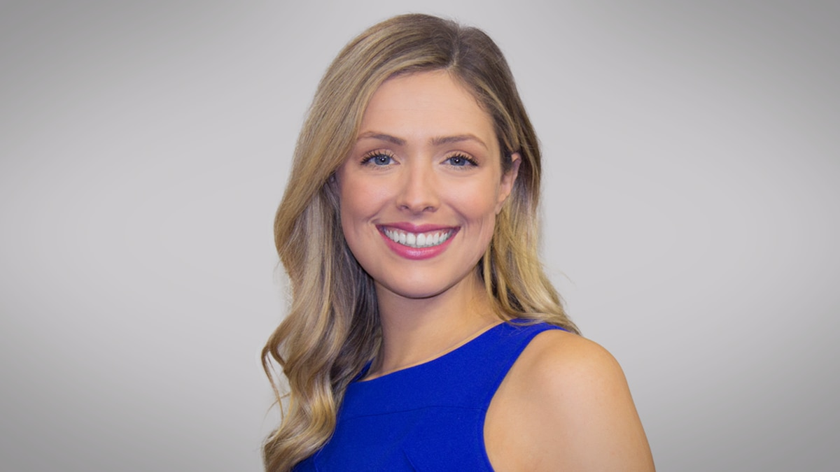 Hannah Cumler co-anchors WIS Sunrise alongside Leland Pinder and Meteorologist Adam Clark...
