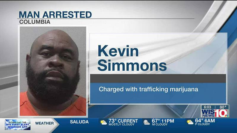 Columbia man charged with smuggling weed from California