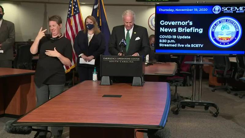 Gov. McMaster, health officials provide COVID-19 update