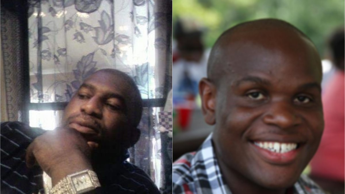 Calvin Witherspoon (L) and Derrick Roper (R) were both found dead in their apartments on Jan....