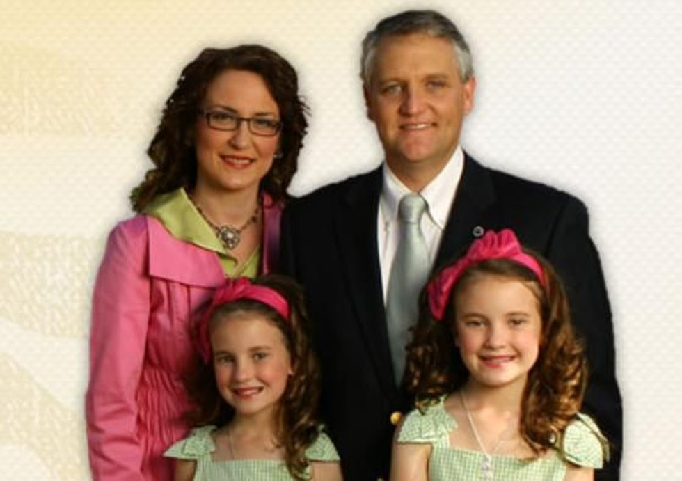 A photo of Ted Vick and his family. (Source: vickforcongress.com)