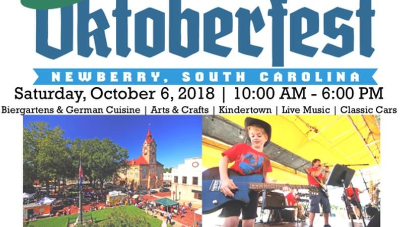 Newberry Oktoberfest will be held Saturday, Oct. 6. (Newberry Oktoberfest)