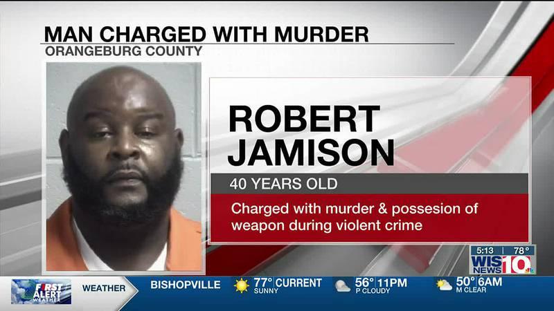 Orangeburg man charged with murder