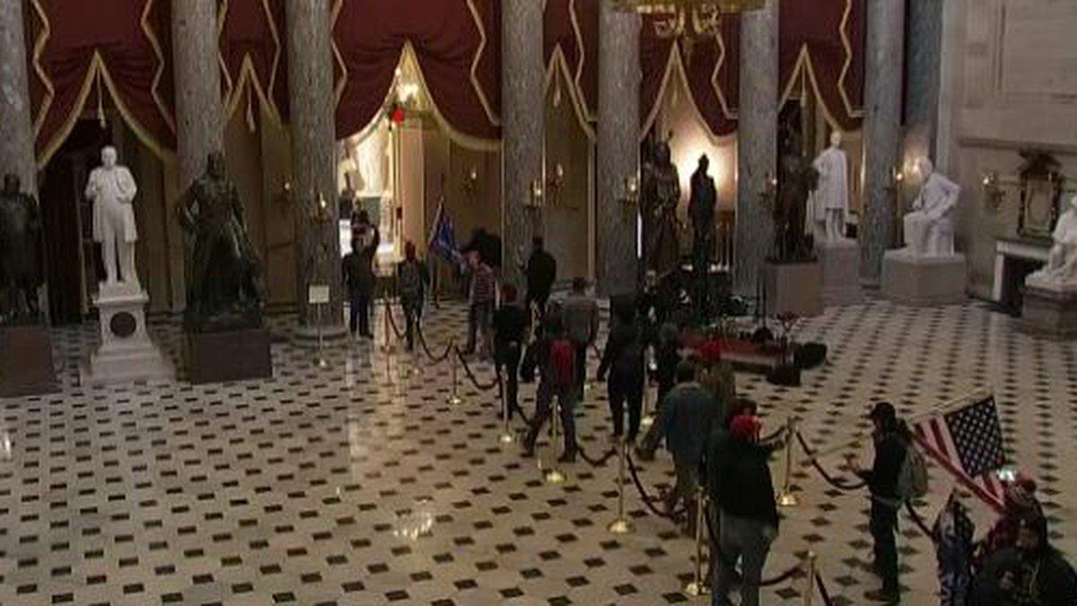 Protesters swarm U.S. Capitol