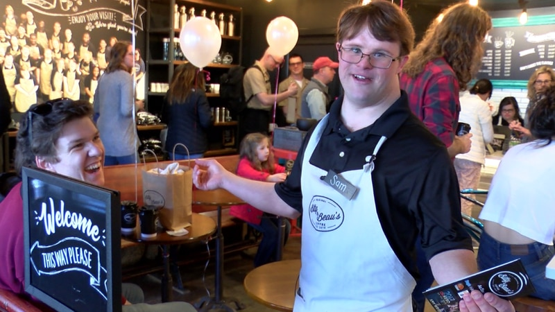 The Bitty and Beau's coffee shop in Charleston is a part of a growing movement aimed at...