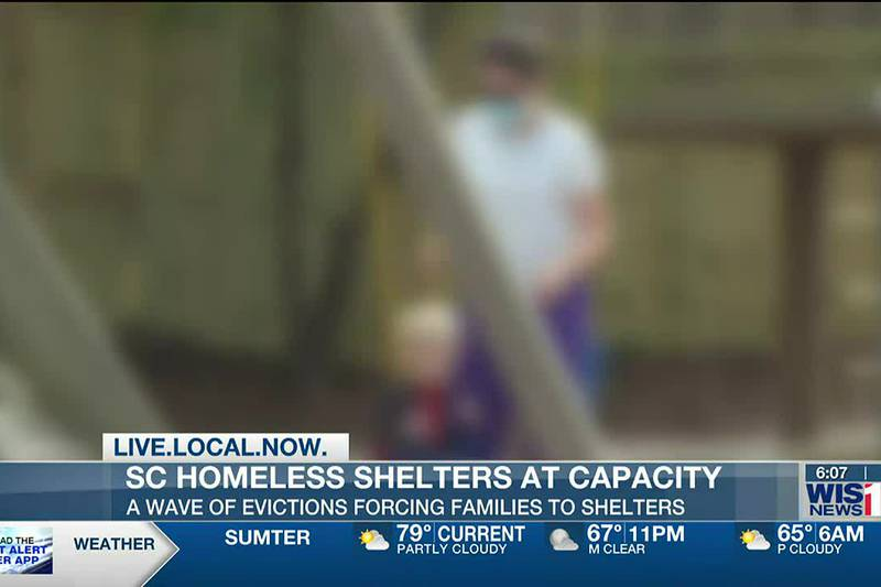 SC homeless shelter seeing 'tsunami' of people in need after eviction moratorium ends