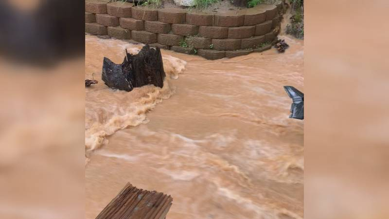 Chapin residents say they're trapped by floodwater every time there's heavy rain