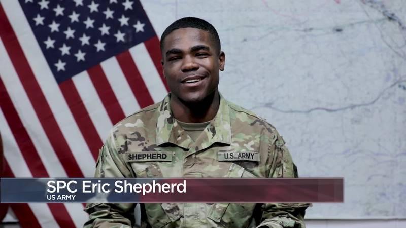 Military Greetings - Spc. Eric Shepherd