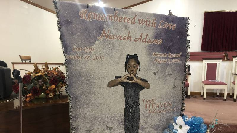 Sumter community says goodbye as 5-year-old Nevaeh Adams laid to rest