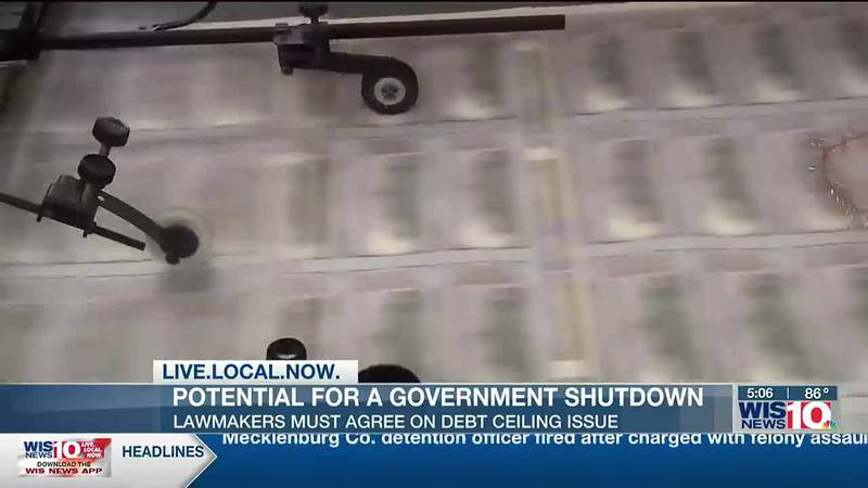 UofSC economist says government shutdown unlikely to happen at end of week, with debt ceiling...