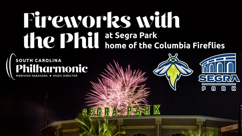 This Saturday, the South Carolina Philharmonic will perform as a full orchestra for Fireworks...