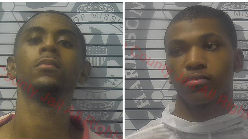 Authorities say Davian Atkinson, left, and Darian Atkinson, right, are brothers. Darian is...