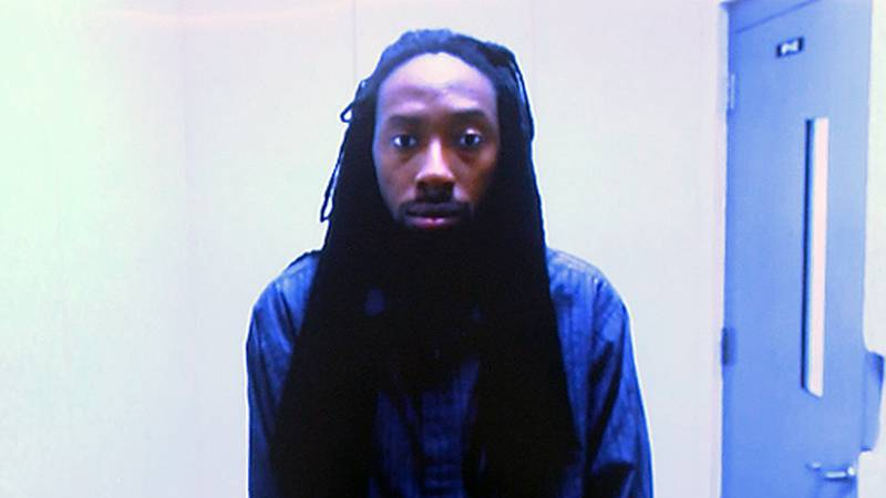 Karey Montrel Hewyard is accused of of performing lewd acts upon his ex-wife's daughter inside...