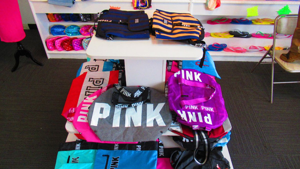 Authorities have seized more than $300,000 in counterfeit items from a Decker Boulevard business.