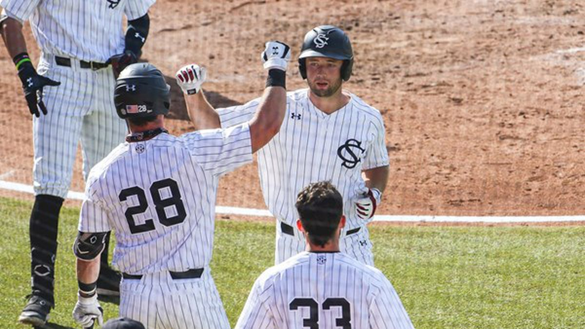 Andrew Eyster had a pair of home runs and drove in four but Mississippi State scored its nine...