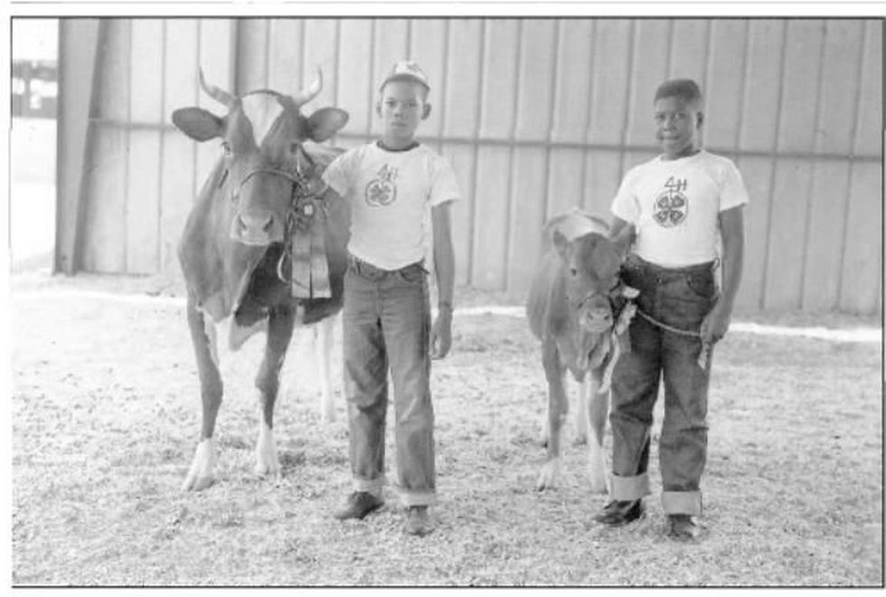 Do you recognize these kids from 1957? (Source: Clemson University Libraries)