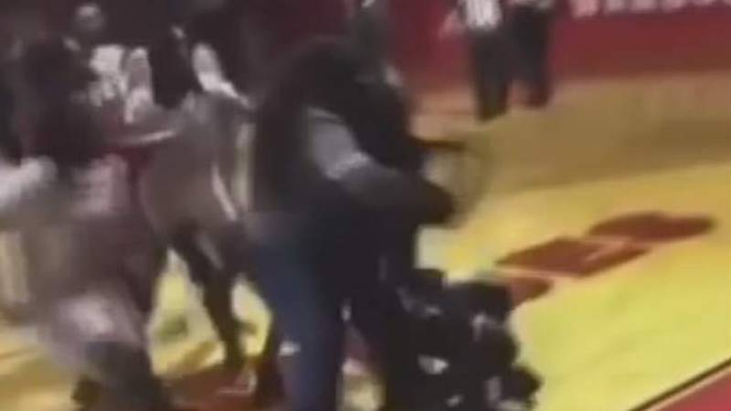 The fight involving Woodland High School and Barnwell High School players happened on Feb. 5...