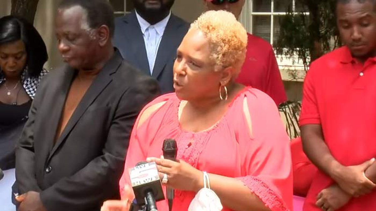 Amy Sutherland demanded charges be filed in the January death of her son, Jamal, who died while...
