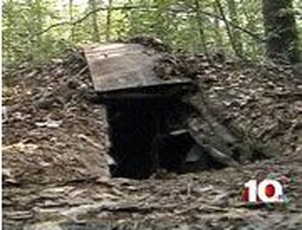 Deputies discovered the girl around 7:30 Saturday morning in an underground bunker