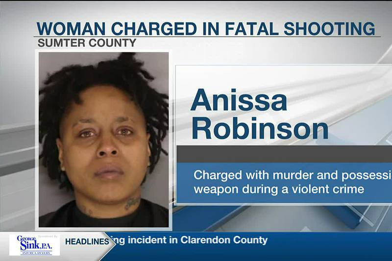 Woman charged in connection with fatal shooting in Sumter