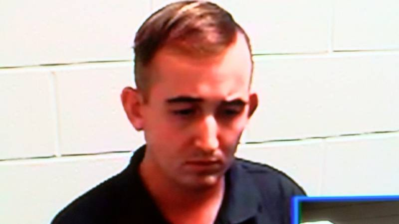 Jacop Hazlett during a court hearing on Wednesday. (Source: Live 5 News)